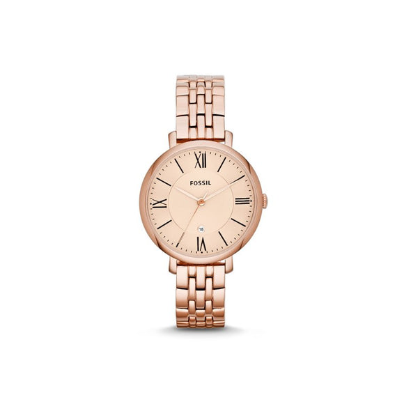 Jacqueline Rose Gold-Tone Stainless Steel