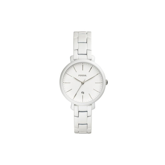 Jacqueline Pearl White Stainless Steel Watch
