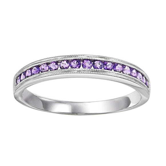 Alexandrite Stackable Band