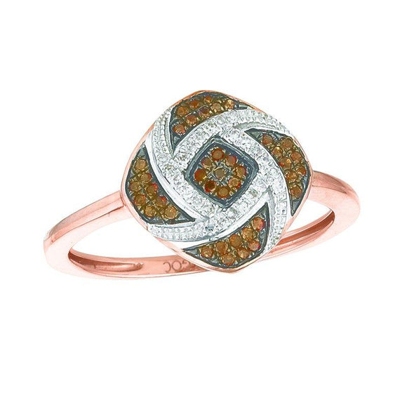 Rose Gold Chocolate Diamond Ring