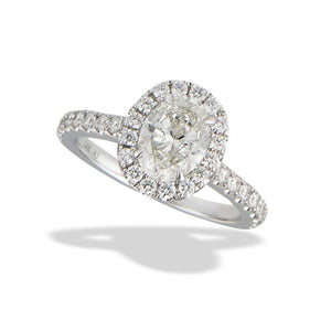 14K 1.80 Carat Diamond Engagement Ring