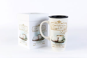 Beignet Travel Mug