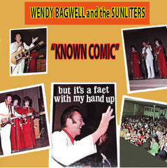 Wendy Bagwell - Known Comic - CD