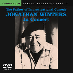 Jonathan Winters - The Father of Improvisational Comedy - In Concert - DVD