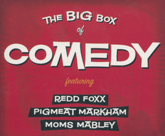 MOMS MABLEY - PIGMEAT MARKHAM - REDD FOXX - The Big Box of COMEDY - 3 CD set