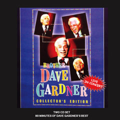 Brother Dave Gardner - Live in Concert - 2 CD Set
