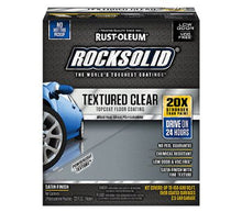 Carregar imagem no visualizador da galeria, Rust-Oleum RockSolid Textured Clear Floor Coating Kit 120 oz.