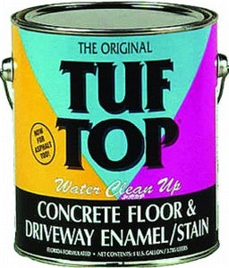 Tuf -Top Water Cleanup (WC) Floor and Driveway Coating