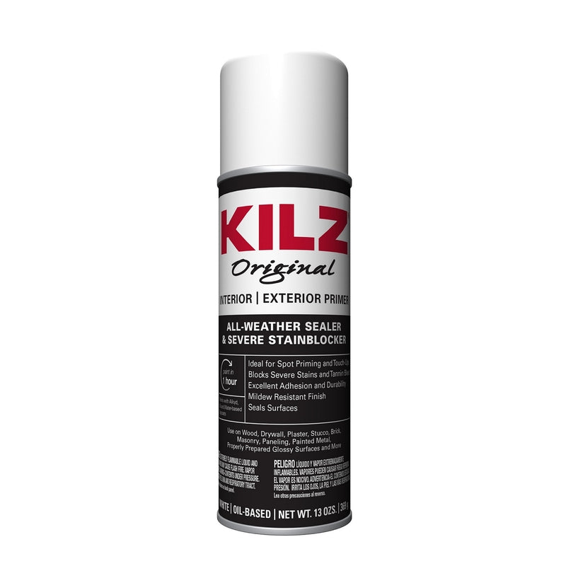 Kilz White Matte Oil-Based Alkyd Primer 13 oz.