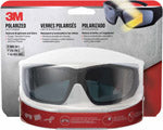 3M Anti-Fog Polarized Impact-Resistant Safety Glasses Black Lens Black Frame 1 pc. (90214)