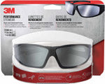3M Anti-Fog Impact-Resistant Safety Glasses Silver Mirror Lens Black Frame 1 pc. (90213)