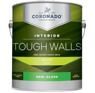 Benjamin Moore Coronado Tough Walls Alkyd Semi-Gloss (23) Gallon size only