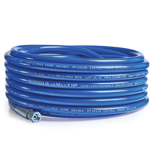 Graco BlueMax II HP Airless Hose, 1/4 in x 50 ft, 4000 psi (277250)