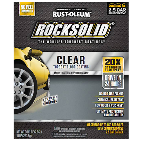 ROCKSOLID® Polycuramine® Clear Top Coating Kit