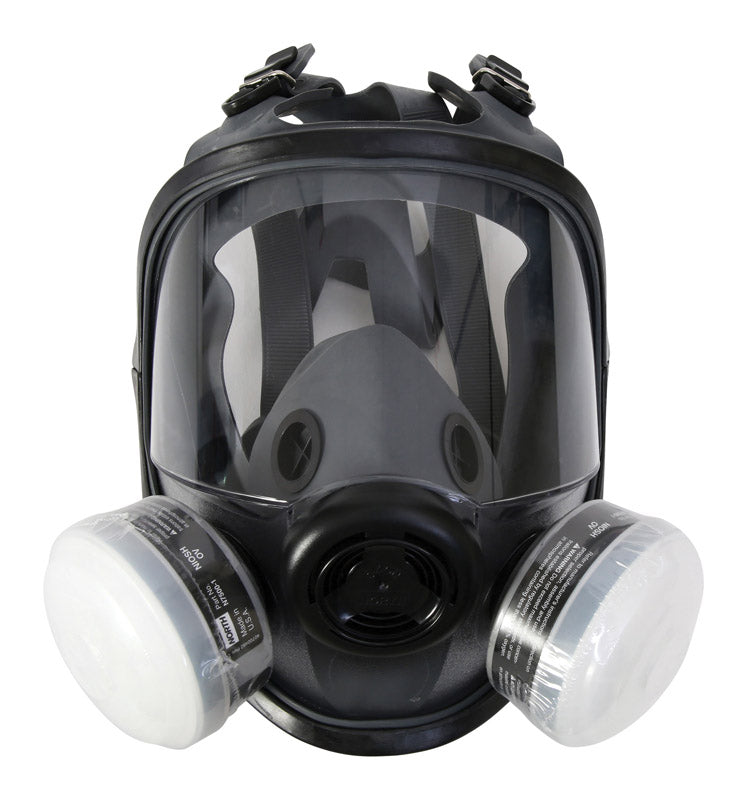 Honeywell North R95 Paint Spray and Pesticide Full Facemask Respirator 5400 Black M/L 1 pc. (RAP-74037)