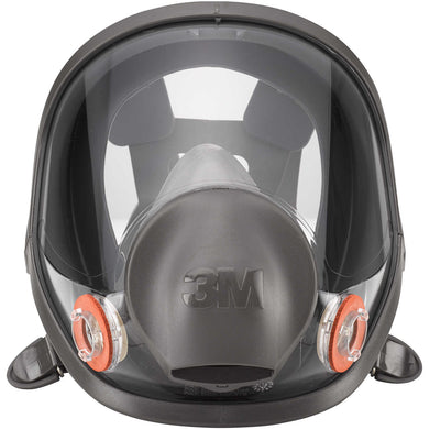 3M 6900 Construction Full Face Respirator Gray 1 pc