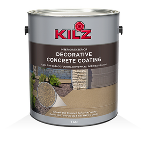 Kilz® Decorative Concrete Coating