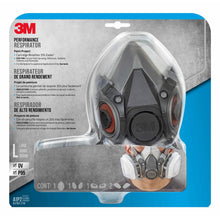 Carregar imagem no visualizador da galeria, 3M P95 Paint Project Respirator Valved Black Size L x 1 pk (6311P1)