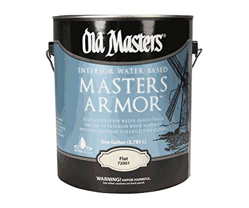 Old Masters 72001 Master Armor, Flat, 1 Gallon