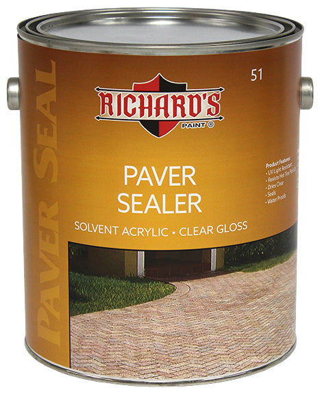 Richard's #51 Paver Sealer Clear Gloss