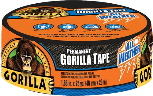 Gorilla 6009002 All Weather Tape 25yd