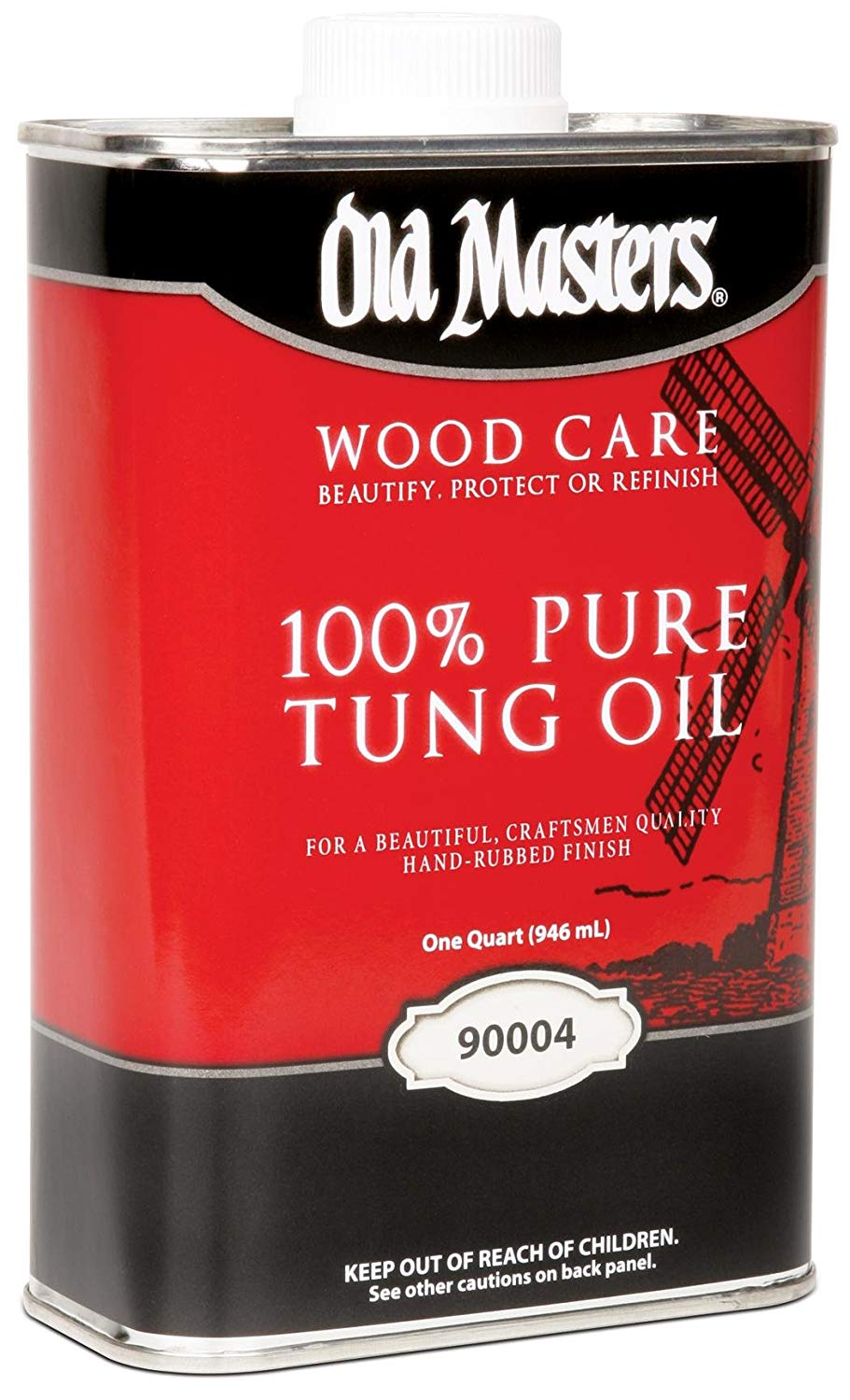 Old Masters Pure Tung Oil.