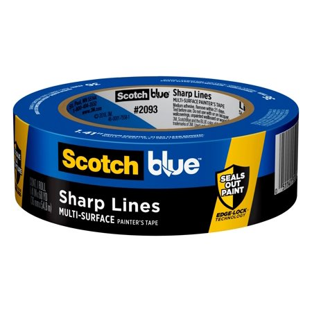 3M ScotchBlue 1.41 in. W x 60 yd. L Blue Medium Strength Painter's Tape 1 pk