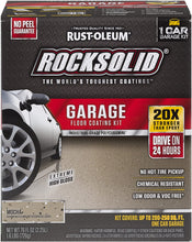 Load image into Gallery viewer, ROCKSOLID® Polycuramine® Garage Floor Coating Kit