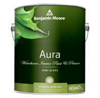 Benjamin Moore Aura Interior Paint- Semi-Gloss (528)