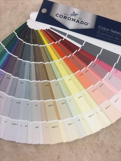 Benjamin Moore Coronado Color Selector Fan Deck
