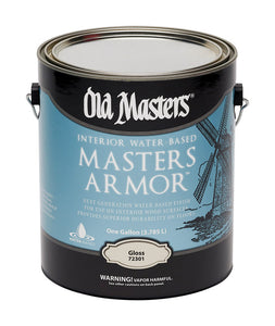 Old Masters Masters Armor Gloss Clear Water-Based Floor Finish 1 gal.