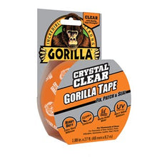 "Load image into Gallery viewer, Gorilla Clear Repair Tape 1.88"" in x 27' ft"