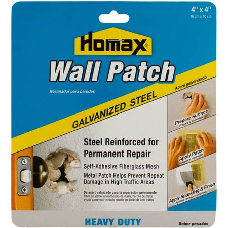 Homax Wall Patch Heavy-Duty Galvanized Steel