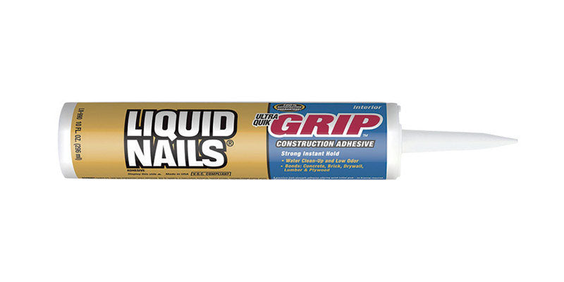 Liquid Nails Ultra Quick Grip Synthetic Elastomeric Polymer Construction Adhesive 10 oz.