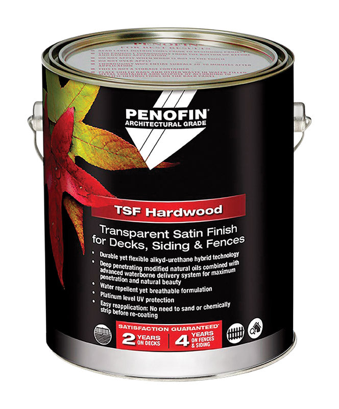 Penofin TSF Hardwood Transparent Natural Water-Based Wood Stain 1 gal.