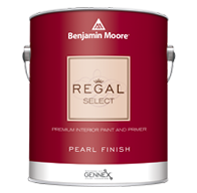 Benjamin Moore Regal Select Interior Paint- Pearl (0550)