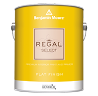 Benjamin Moore Regal Select Interior Paint- Flat (0547)