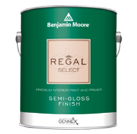 Benjamin Moore Regal Select Interior Paint- Semi-Gloss(551)