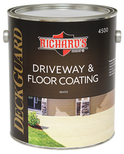 Load image into Gallery viewer, Richard's Paint #4500 Series, Deck Guard 100% Acrylic Driveway & Floor Coating