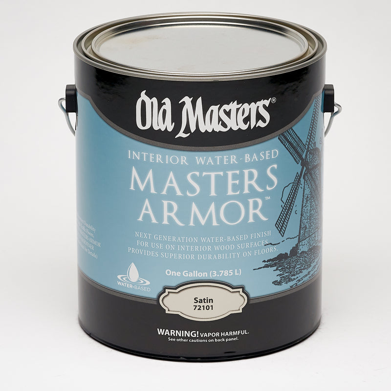 Old Masters Masters Armor Satin Clear Water-Based Floor Finish 1