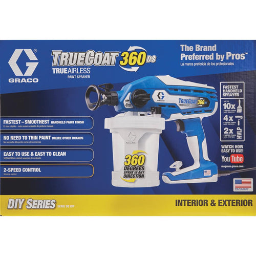 GRACO 17A466 TrueCoat 360 DS Dual Speed Painter