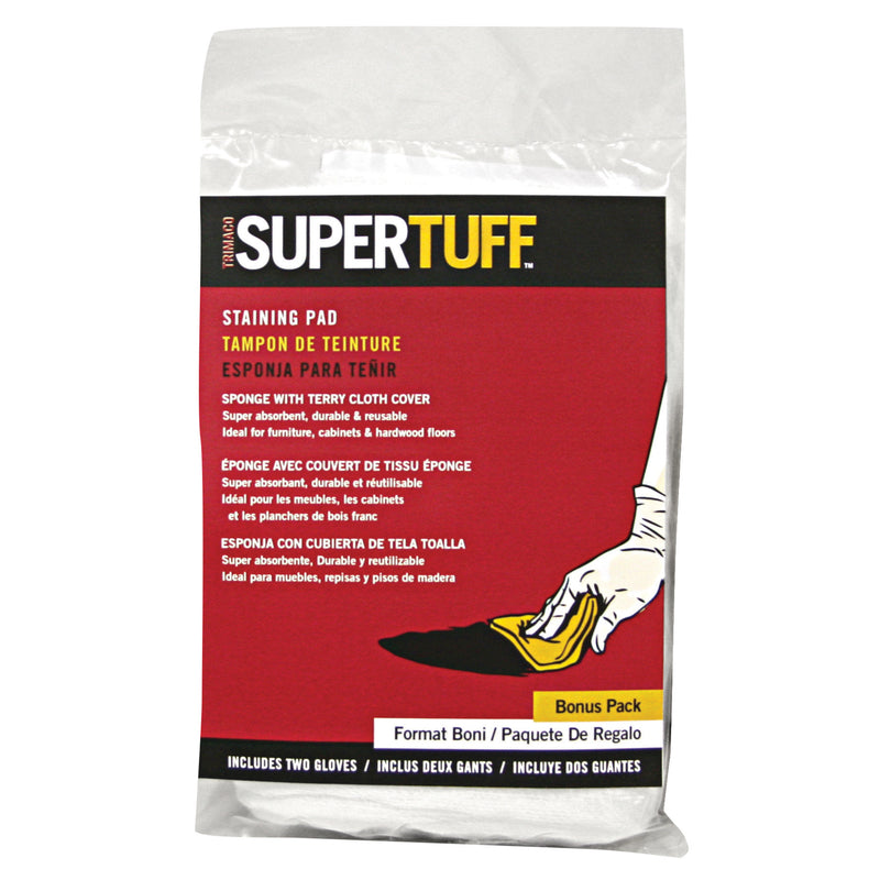 Trimaco SuperTuff 3 in. W Staining Pad For Smooth Surfaces
