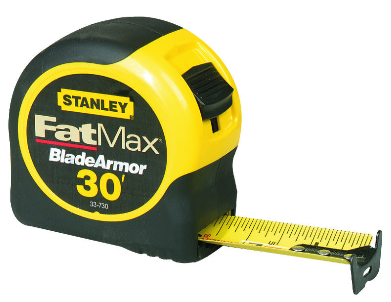 Stanley FatMax 30 ft. L x 1.25 in. W Tape Measure 1 pk