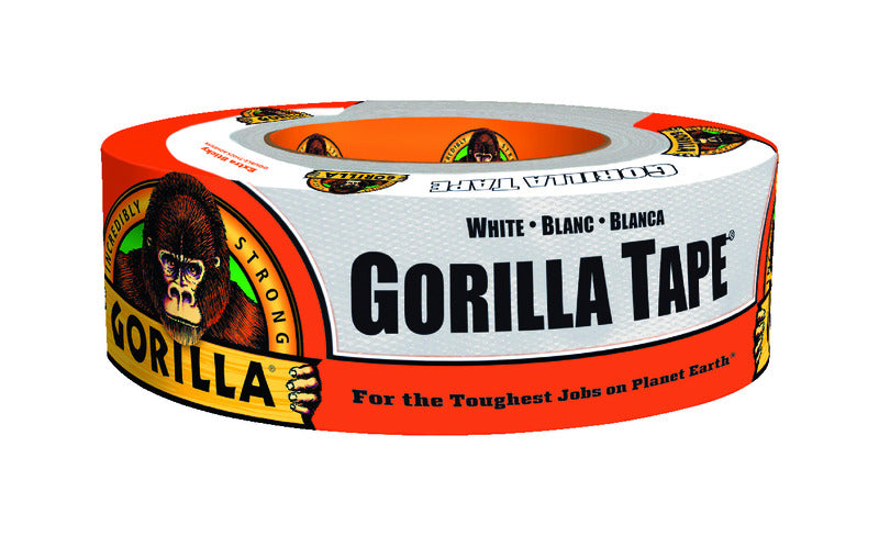 Gorilla 1.88 in. W x 10 yd. L Tape White