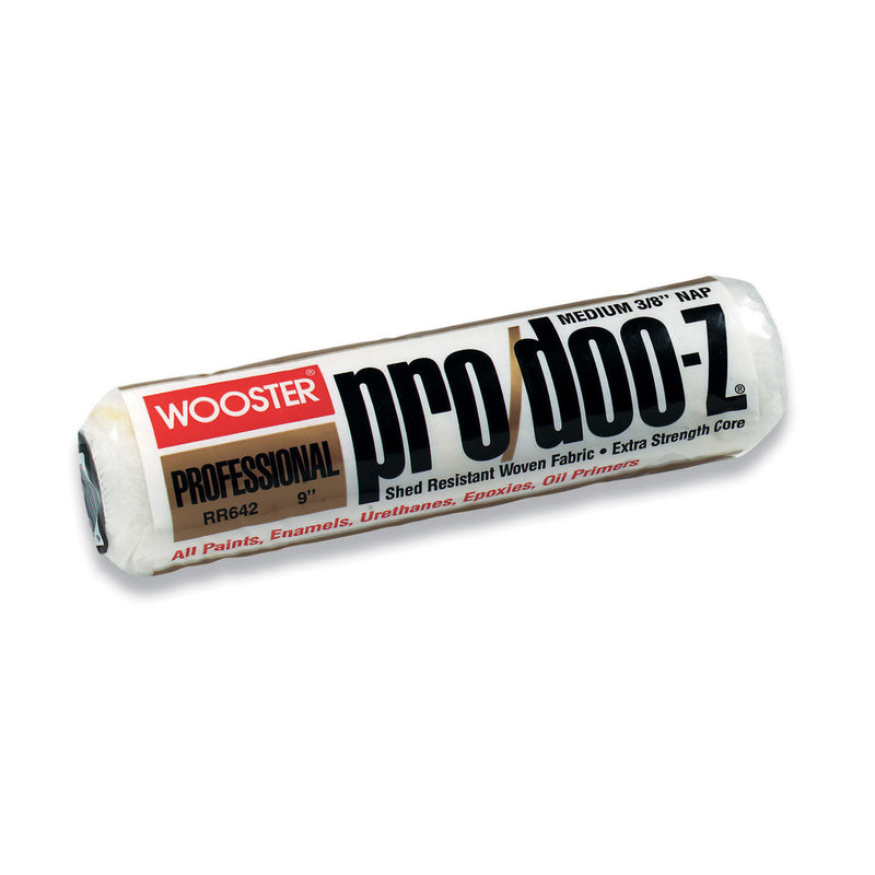 Wooster Pro/Doo-Z Fabric 3/8 in. x 12 in. W Regular Paint Roller Cover 1 pk