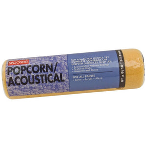 Wooster Rollers Popcorn Acoustical 9 in. x 9/16 in. Foam Roller Cover