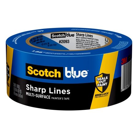3M ScotchBlue 1.88 in. W x 60 yd. L Blue Medium Strength Painter's Tape 1 pk
