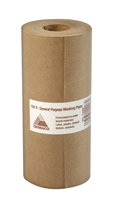 Trimaco 6 in. W x 180 ft. L Masking Paper 1 pk