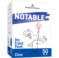 Benajmin Moore Notable® Dry Erase Paint - Clear High Gloss (0500-00)