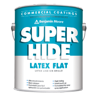 Benjamin Moore Super Hide Latex Flat (282)